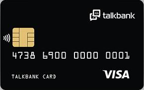 Виртуальная дебетовая карта TalkBank